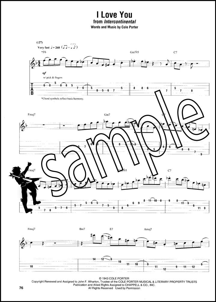 Joe Pass Omnibook for C Instruments Guitar TAB & Music Notation Book ...