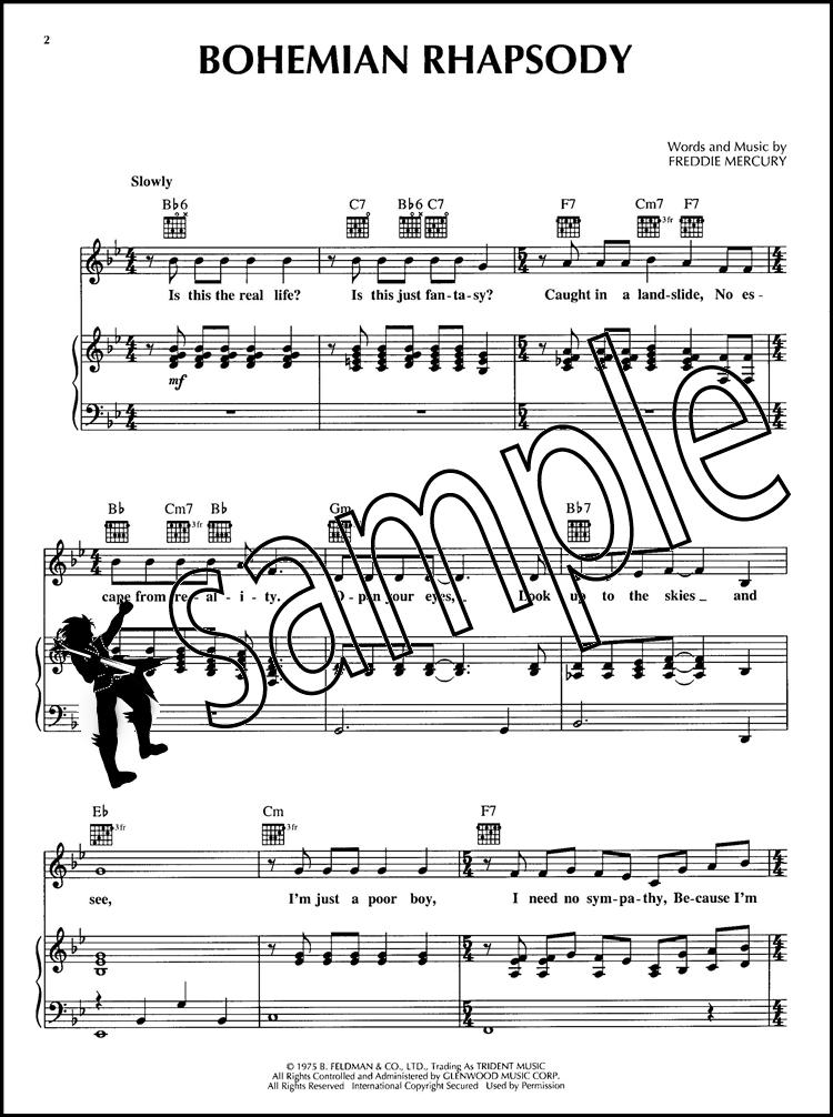 Bohemian Rhapsody Pvg Hamcor