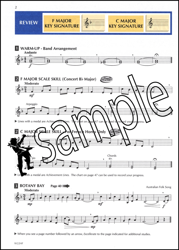 All Music Chords french horn sheet music : Standard of Excellence Comprehensive Band Method French Horn Sheet ...