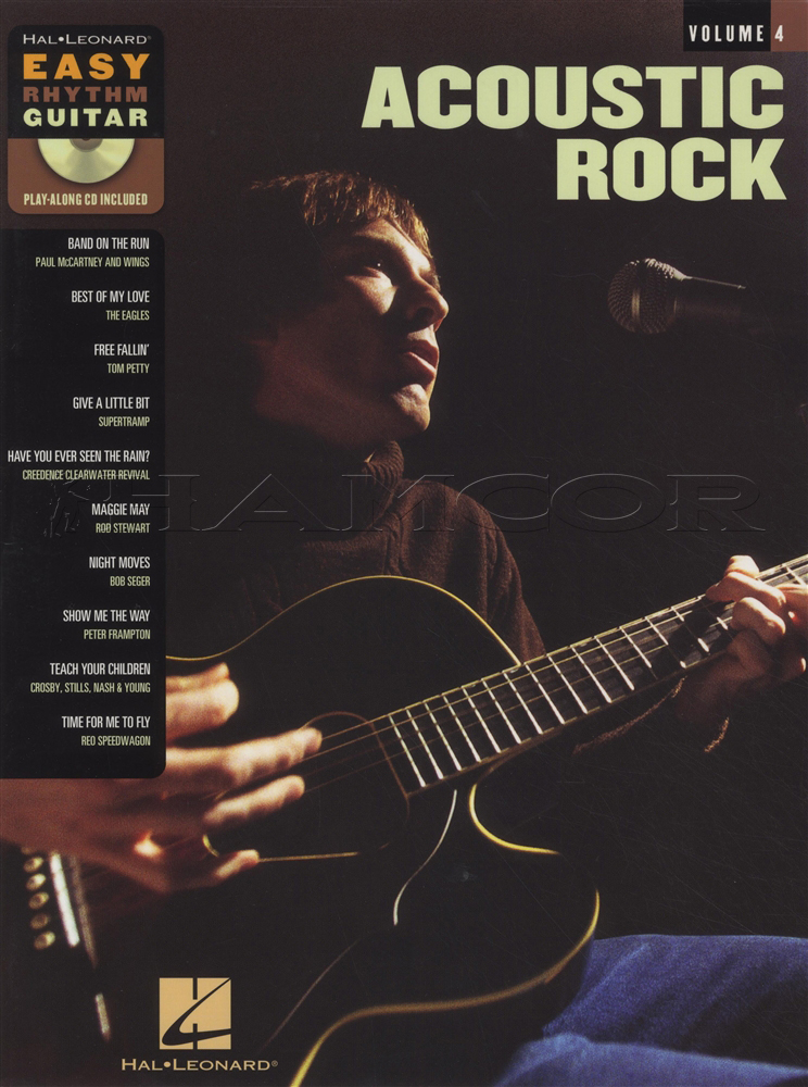 Acoustic Rock Easy Rhythm Guitar Chord Songbook With Cd Bob Seger