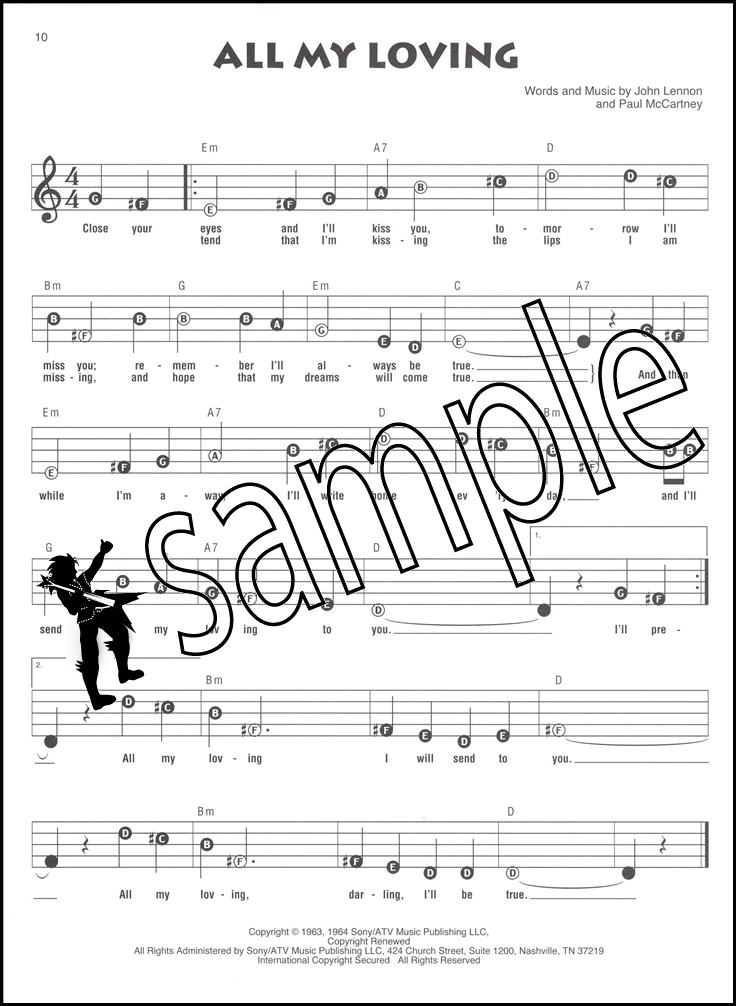 The Beatles Recorder Fun Sheet Music Book Easy Instructions