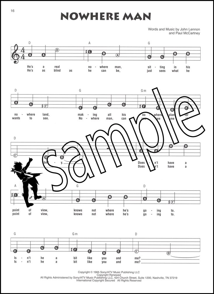 The Beatles Recorder Fun Sheet Music Book Easy Instructions ...