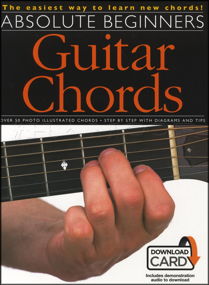 Absolute Beginners Guitar Chords Bookaudio Hamcor