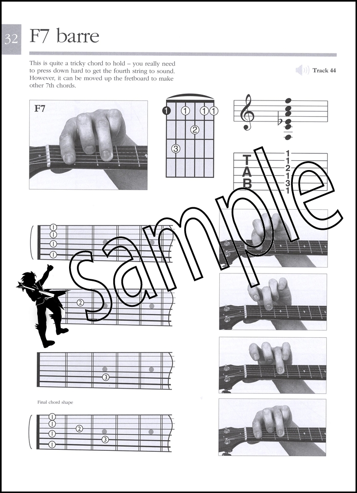 Absolute Beginners Guitar Chords Book/Audio | Hamcor