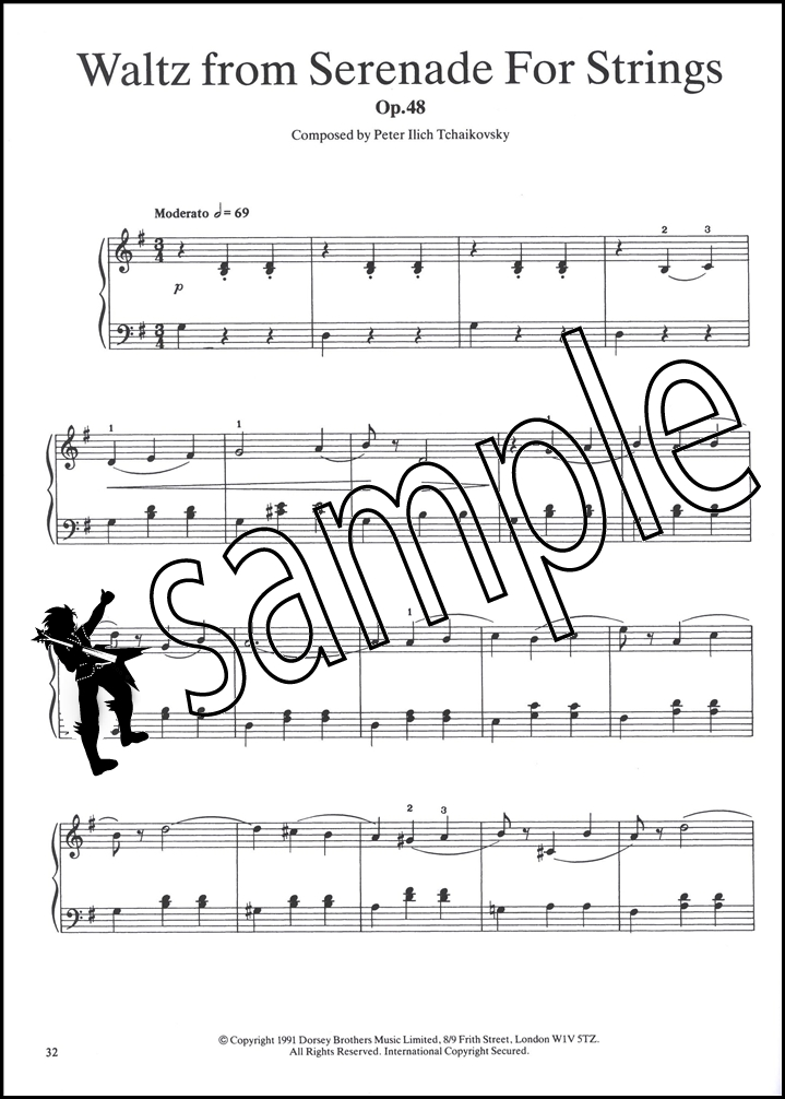 All Music Chords 1812 overture music sheet : It's Easy to Play Tchaikovsky Piano | Hamcor