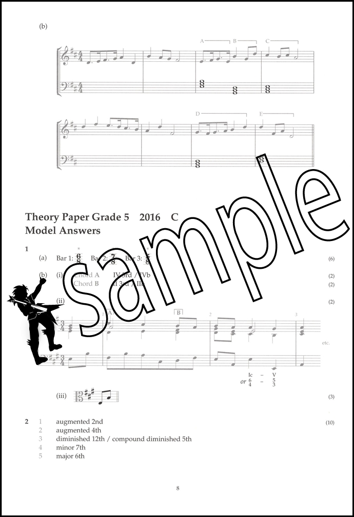 Image Result For Grade Music Theory Past Papers Abrsm