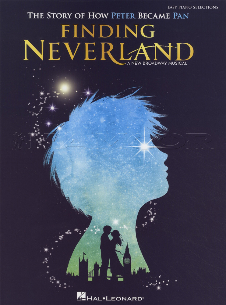 Finding Neverland Easy Piano Selections Music Book Peter Pan