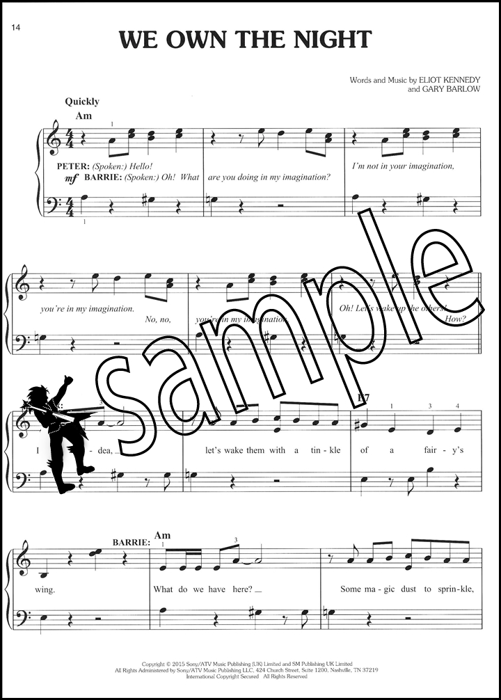 Finding Neverland Easy Piano Selections | Hamcor