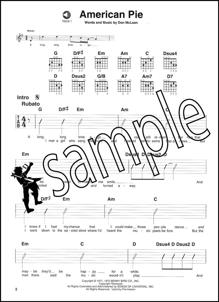 Pop Rock Easy Rhythm Guitar Chord Songbook with CD Elton John ...