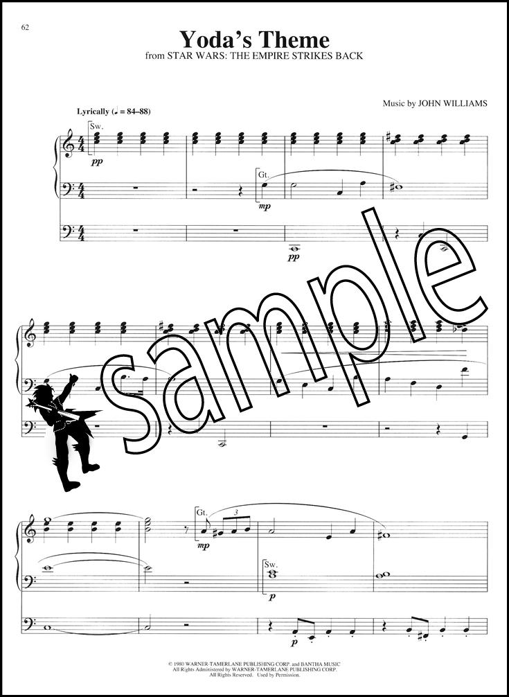 All Music Chords star wars sheet music : Star Wars for Organ | Hamcor