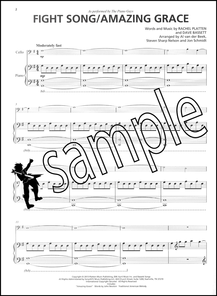 The Piano Guys Uncharted Piano Solo & Optional Cello Sheet Music ...