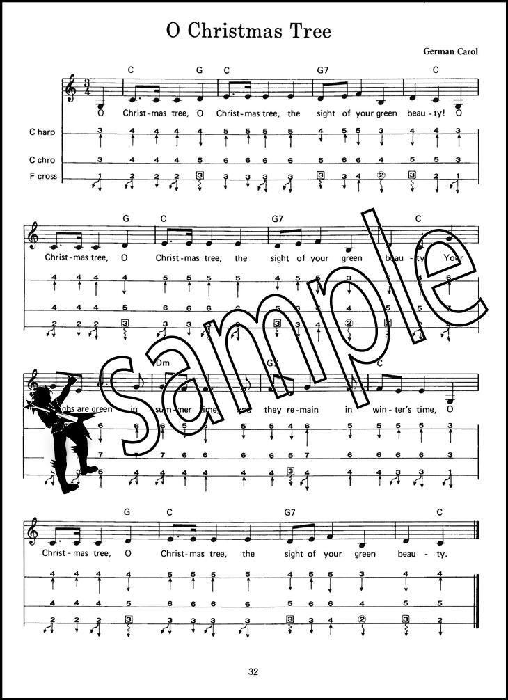 Christmas Songs for Harmonica Book/Audio | Hamcor