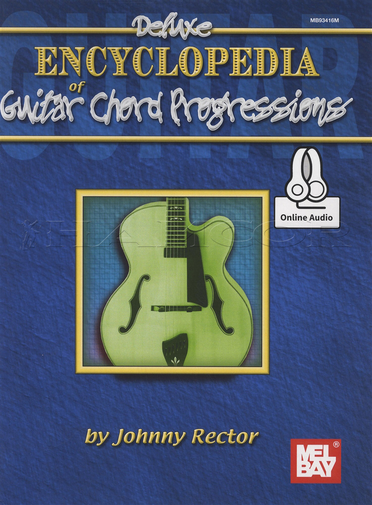 Deluxe Encyclopedia Of Guitar Chord Progressions Sheet Music Book