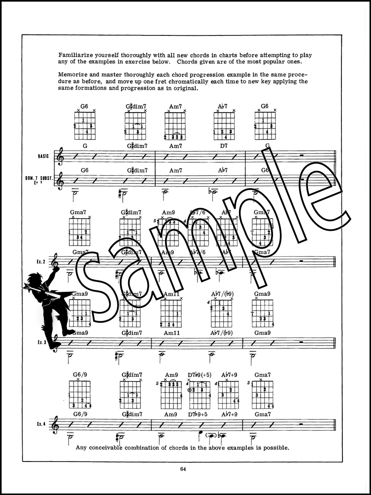 Encyclopedia Of Guitar Chord Progressions Bookaudio Hamcor
