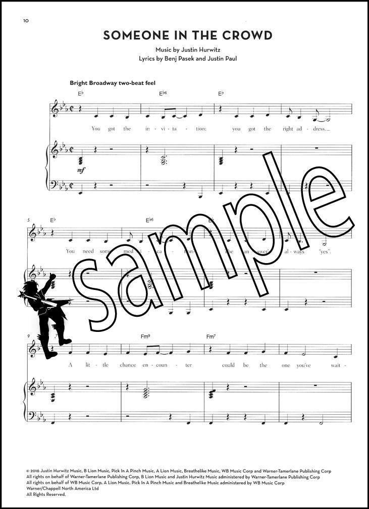 La La Land Piano Vocal Selections Sheet Music Book PVG Lovely ...