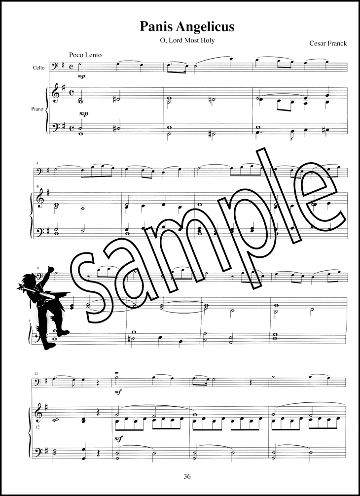 Sacred Melodies for Solo Cello | Hamcor