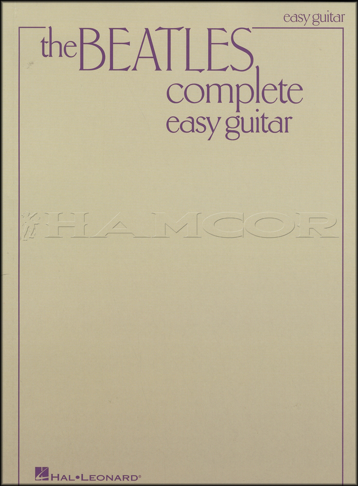 The Beatles Complete Easy Guitar Chord & Melody Songbook Ticket To ...