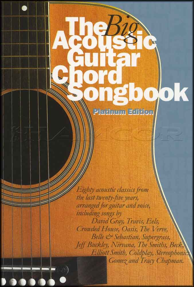 The Big Acoustic Guitar Chord Songbook Platinum Edition Oasis