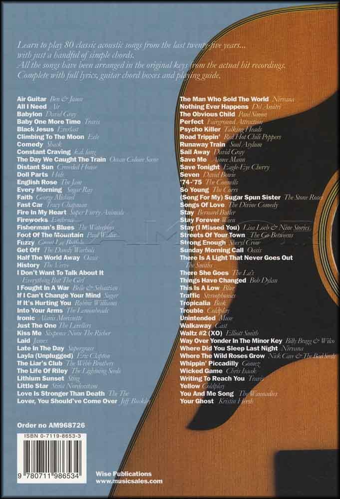 The Big Acoustic Guitar Chord Songbook Platinum Hamcor