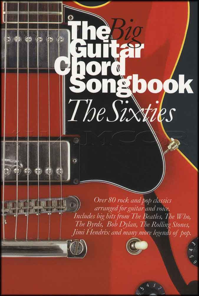 The Big Guitar Chord Songbook The Sixties | Hamcor