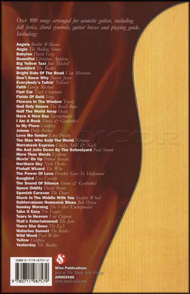 The Great Acoustic Guitar Chord Songbook Hamcor