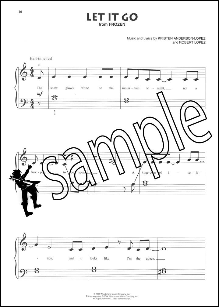 Contemporary Disney Beginning Piano Solo Sheet Music Book Lava ...