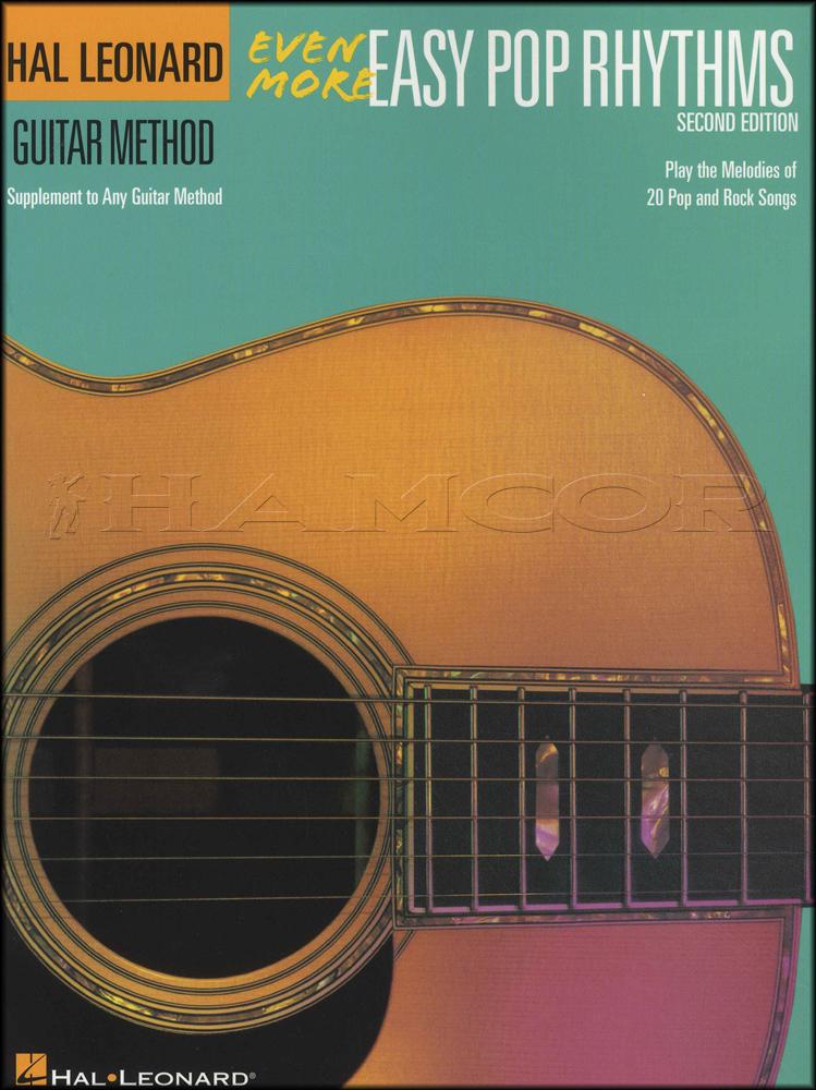 Even More Easy Pop Rhythms Guitar Method Chord Melody Songbook Adele