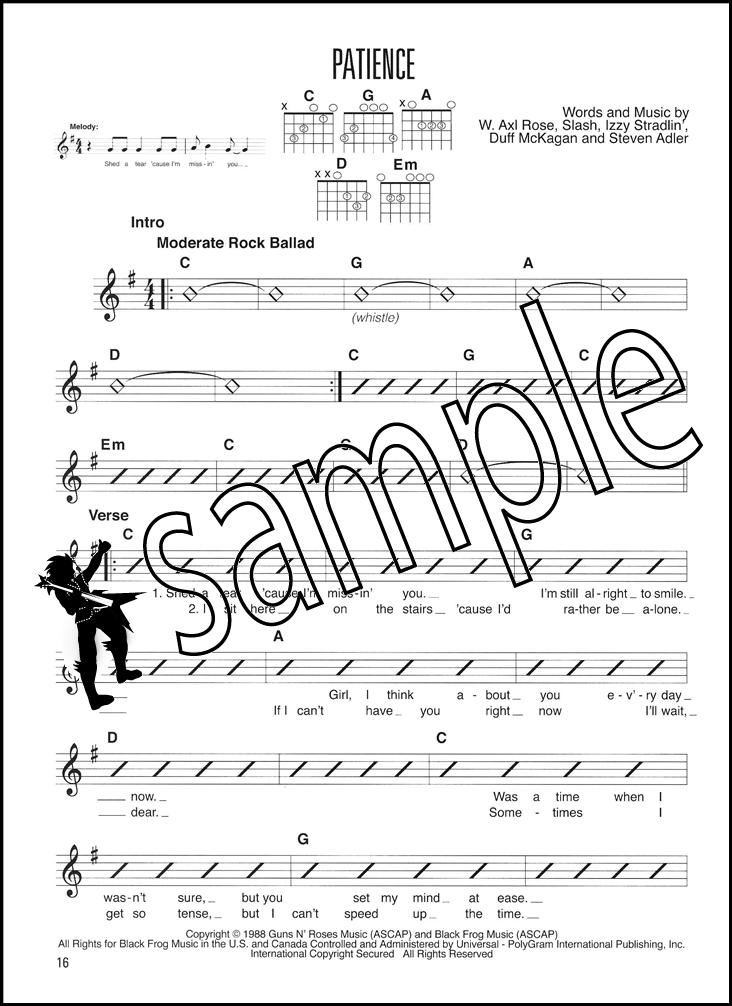 More Easy Pop Rhythms Guitar Method Chord Melody Songbook Nirvana