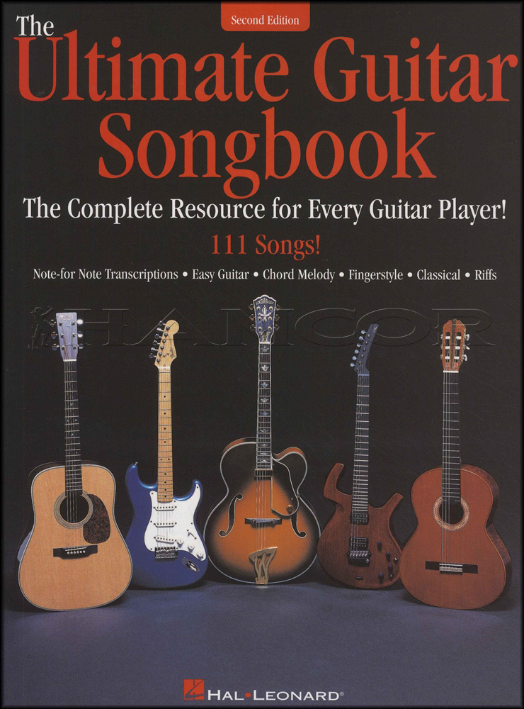 The Ultimate Guitar Songbook 2nd Edition Hamcor