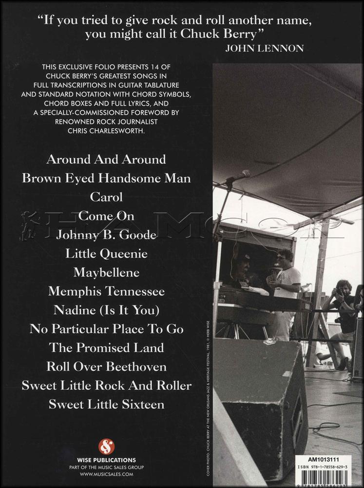 Chuck Berry 1926 2017 Guitar Tab Edition Hamcor
