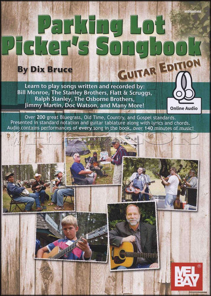 Parking Lot Pickers Songbook Guitar Edition Bookaudio Hamcor
