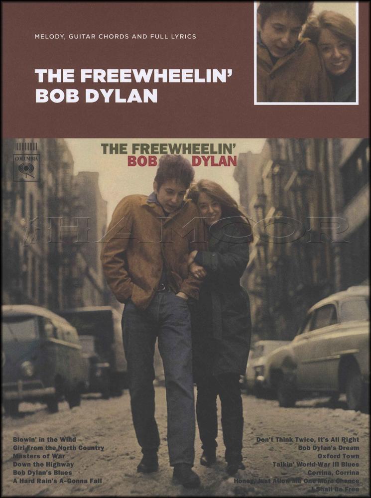 Bob Dylan The Freewheelin Guitar Chord Melody Songbook Classic