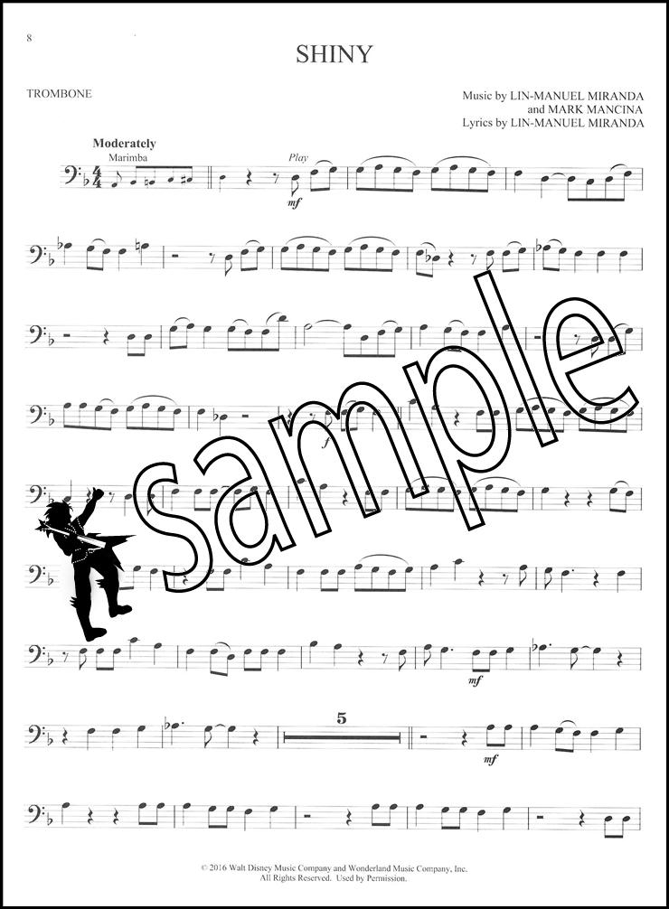 disney moana instrumental play along for trombone sheet music book with audio 888680671990 ebay. Black Bedroom Furniture Sets. Home Design Ideas