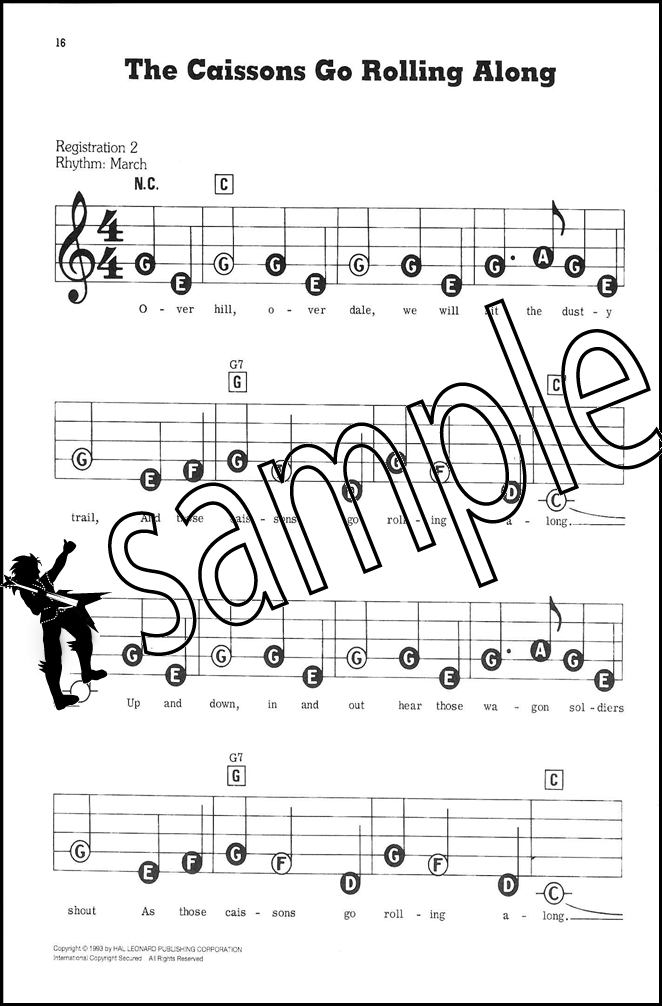 Favorite Songs With 3 Chords Mini E Z Play Today Keyboard Sheet