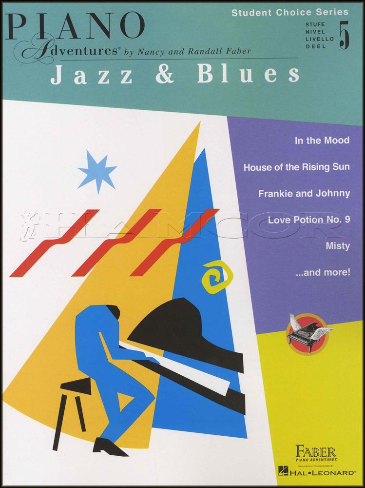 Piano Adventures Jazz Blues Level 5 Student Choice Hamcor