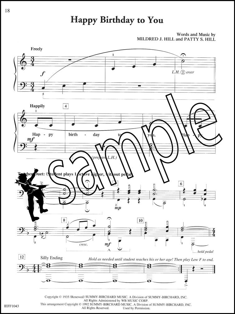 Piano happy birthday piano sheet music : Piano Adventures Popular Level 3 Student Choice | Hamcor