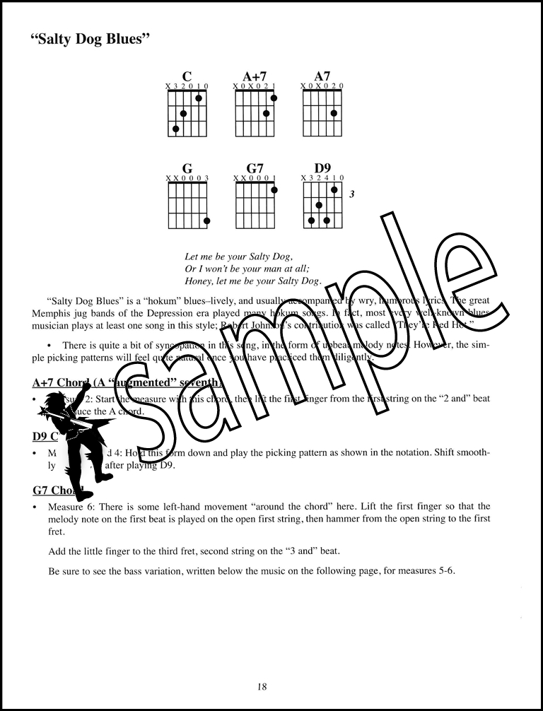 Mississippi Delta Blues Fingerstyle Solos Made Easy Guitar Tab Music