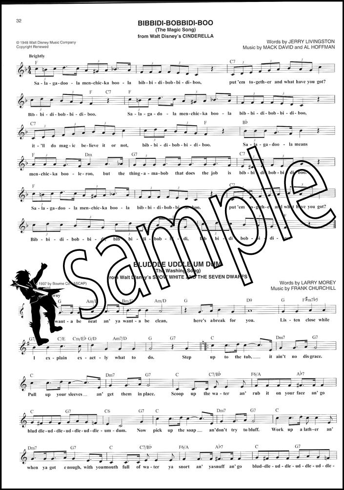 Disney Fake Book Piano Vocal Guitar All C Instruments Sheet Music