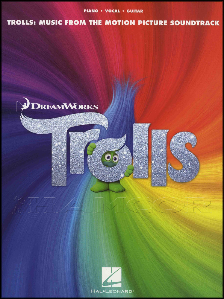 Trolls: Music from the Motion Picture Soundtrack Piano Vocal Guitar Music Book 888680665463 | eBay