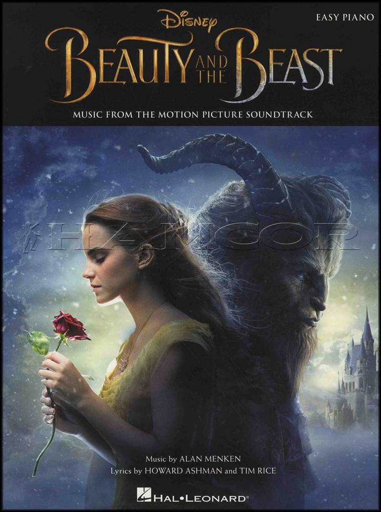 beauty and the beast easy piano sheet music pdf
