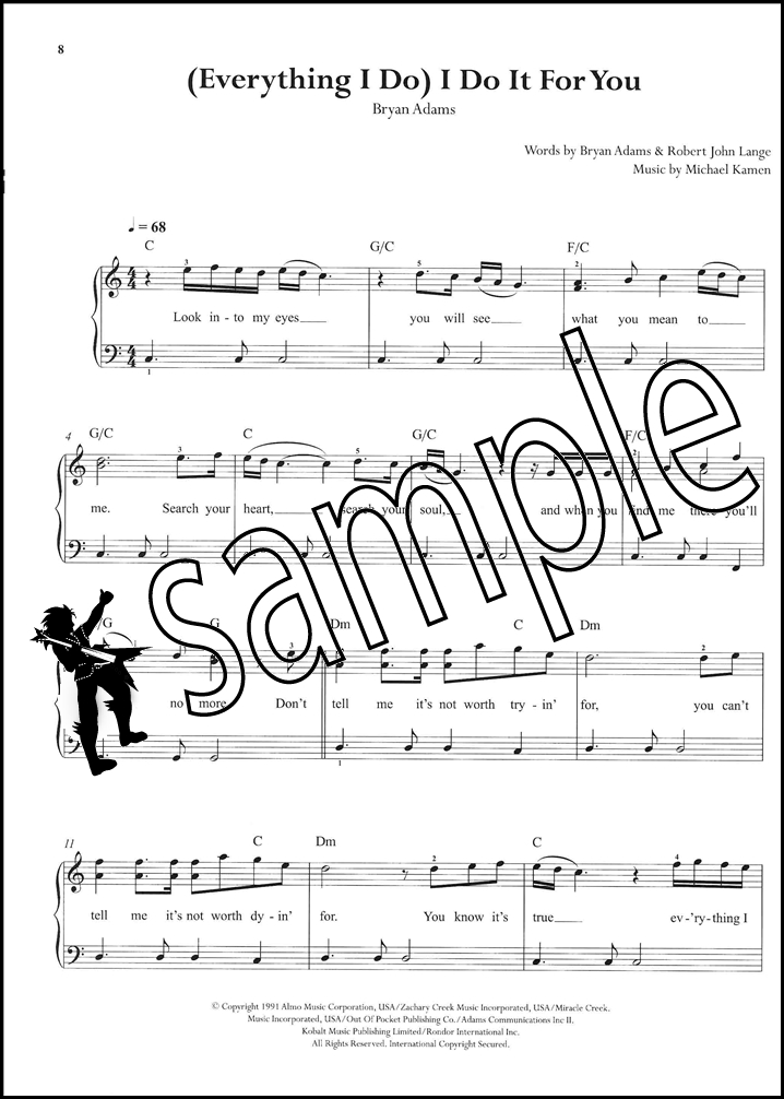 Sentinel The Library Of Easy Piano Pop Songs Vocal Guitar PVG Sheet Music Book