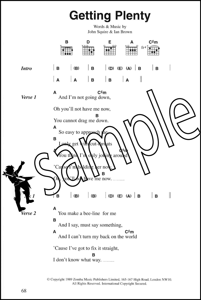 The Stone Roses Complete Chord Songbook Hamcor