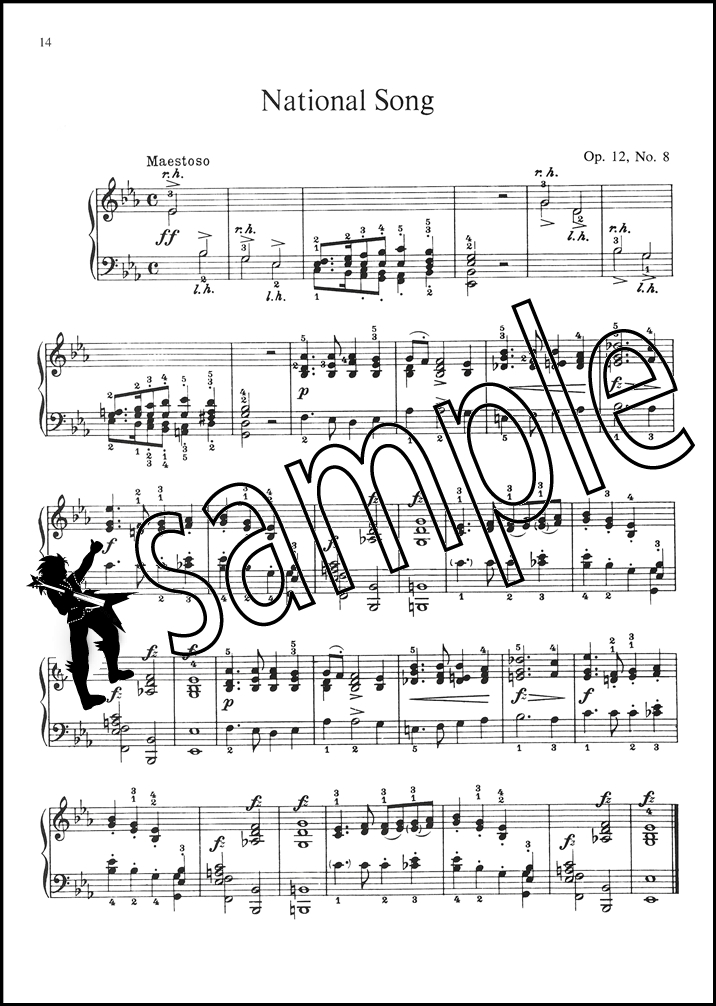 Song song sheet music : Edvard Grieg Complete Lyric Pieces for Piano Sheet Music Song Book ...