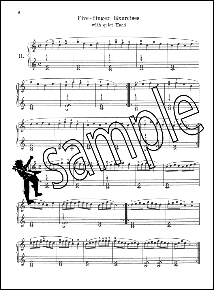 Piano sheet music for beginners piano : Carl Czerny Practical Method for Beginners Piano Sheet Music Book ...