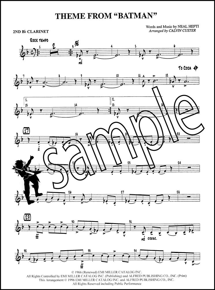 Sentinel Batman Theme For Flute Choir Score Parts Sheet Music Book Level 3 Tv Series: Sleigh Ride Flute Sheet Music 2nd At Alzheimers-prions.com