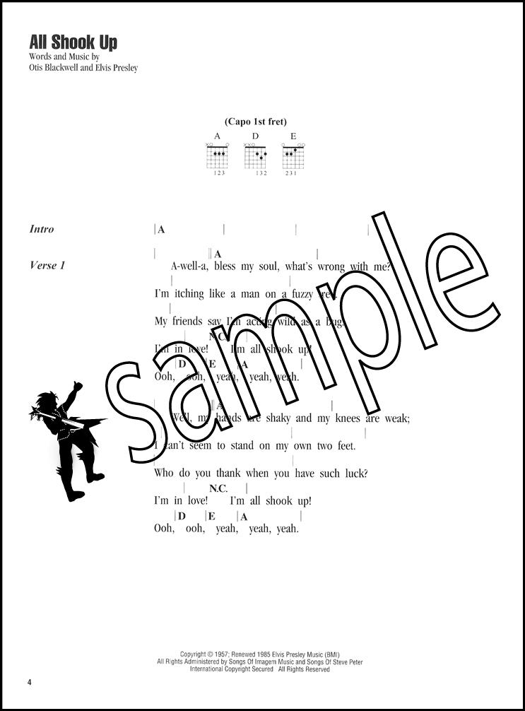 Elvis Presley Strum & Sing Guitar Vocal Chord Songbook Blue Suede ...