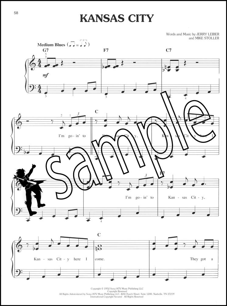 Piano easy piano sheet : First 50 Early Rock Songs Easy Piano Sheet Music Book You Should ...