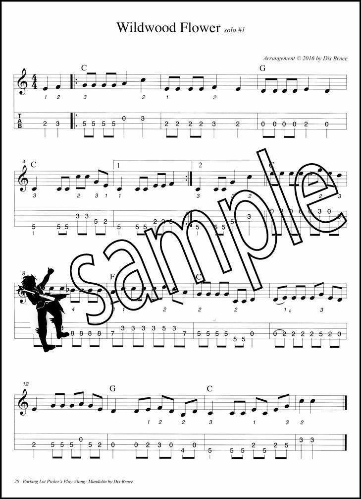 Lyric lyrics to wildwood flower : Parking Lot Picker's Play-Along Mandolin Book/Audio   Hamcor