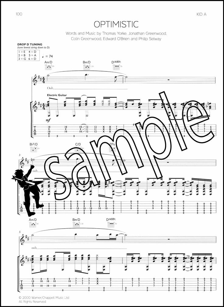 creep radiohead sheet music pdf