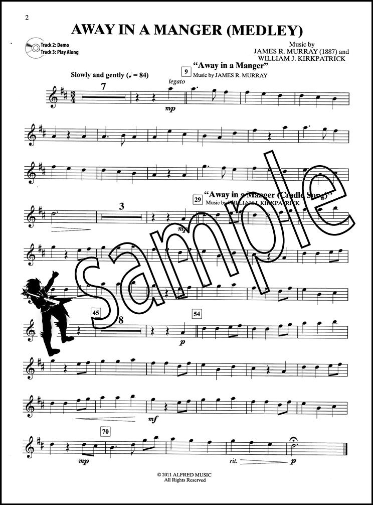 Easy Christmas Carols Instrumental Solos Alto Sax Saxophone Sheet ...